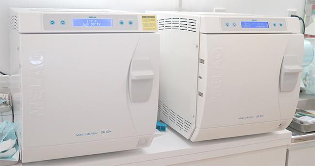 高圧蒸気滅菌器 バキュクレーブ31B+